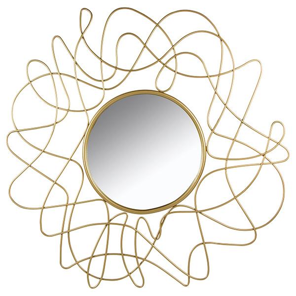Image of   Spejl Golden Flower (100 x 3 x 100 cm)