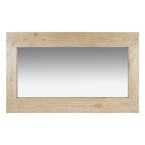 Image of   Spejl Old Wood (130 x 10 x 80 cm)