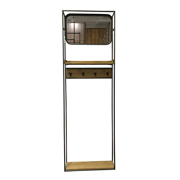Image of   Spejl Rack (53 x 15 x 165 cm)