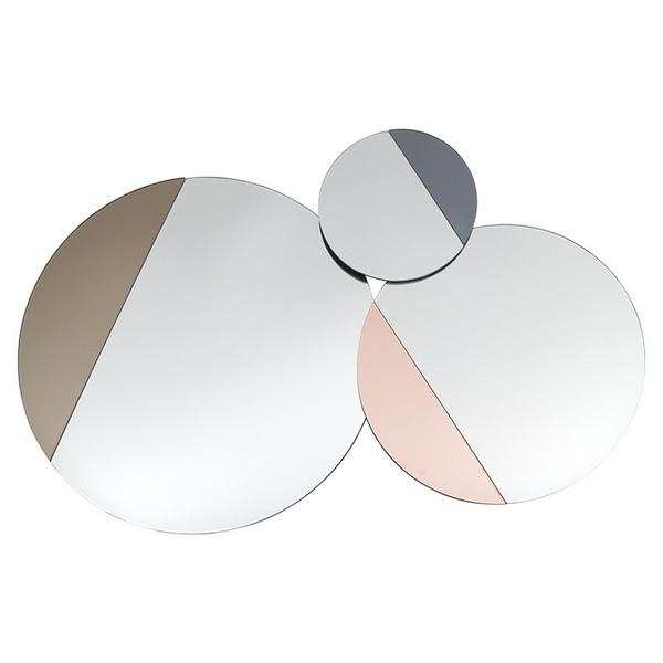 Image of   Spejl Three Circles (120 x 4 x 84 cm)