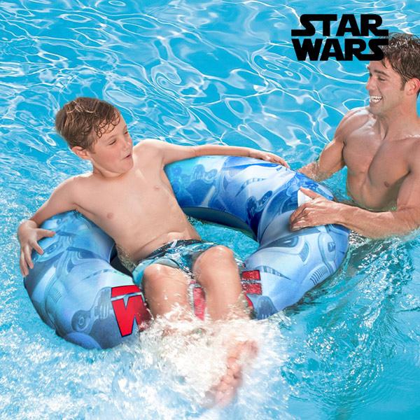 Image of   Star Wars Oppustelig Gummiring med Håndtag