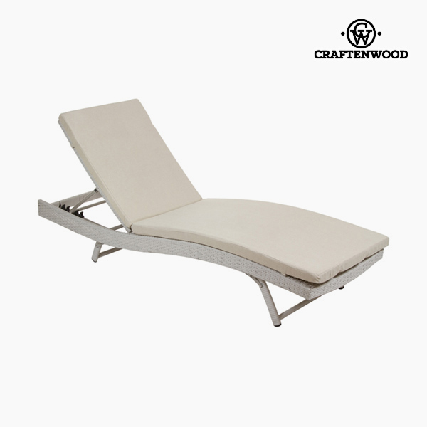 Image of   Sun-lounger (194 x 28 x 65 cm) Spanskrør Polyester by Craftenwood