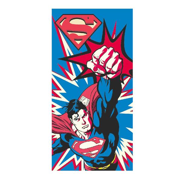 Image of   Superman Strandhåndklæde