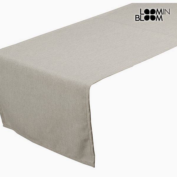Image of   Table Runner Beige (40 x 13 x 0,5 cm) by Loom In Bloom
