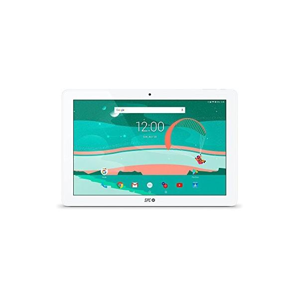 """Billede af Tablet SPC 9764116B 10,1"""" IPS Quad Core 1 GB RAM 16 GB Hvid"""