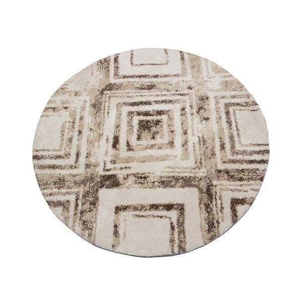 Image of   Tæppe (120 x 120 x 3 cm) Brun - Sweet Home Samling