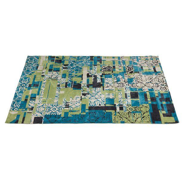 Image of   Tæppe (300 x 200 x 3 cm) Blå - Sweet Home Samling
