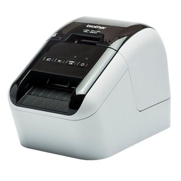 Billede af Termisk printer Brother QL800ZX1 USB Hvid