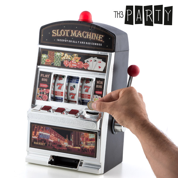 Image of   Th3 Party Slot Machine Sparegris