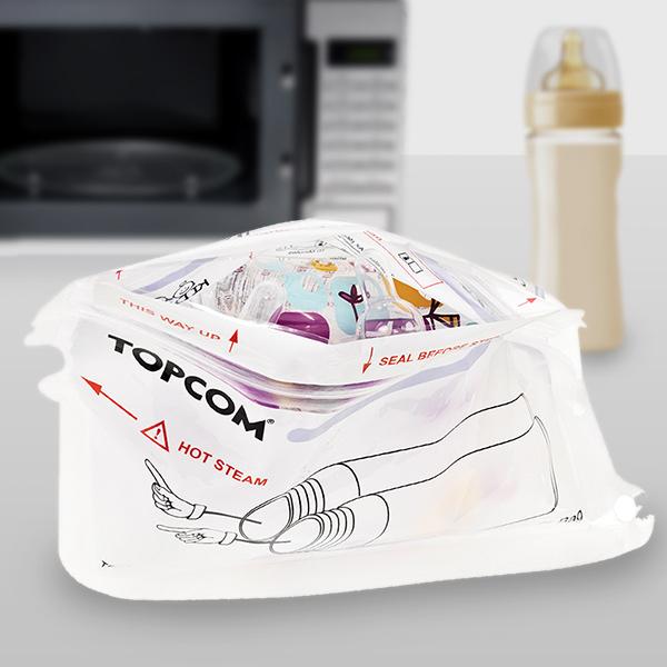 Image of   TopCom Flaskesterilisator til Mikrobølgeovn
