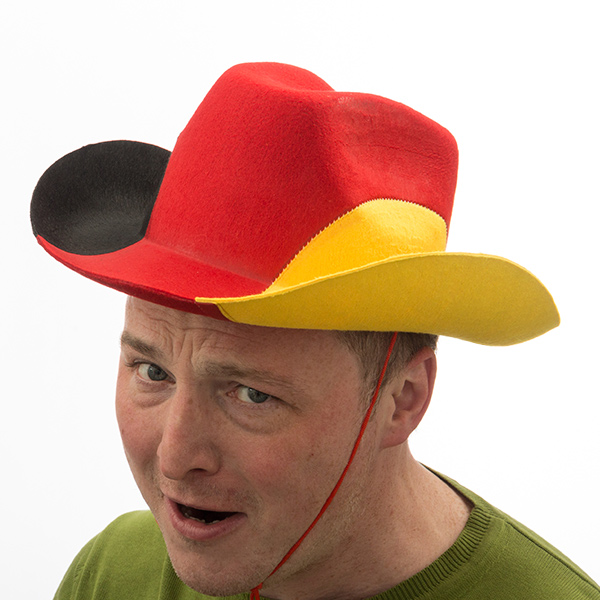 Image of   Tysk Flag Cowboyhat