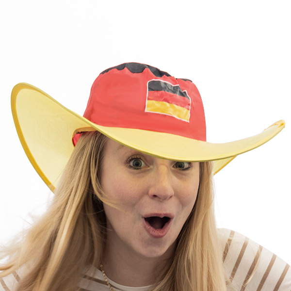 Image of   Tysk Flag Foldbar Hat