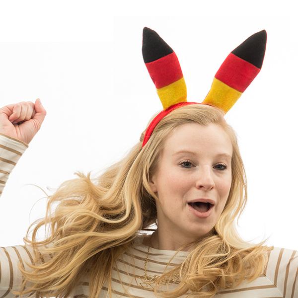 Image of   Tysk Flag Hovedbeklædning