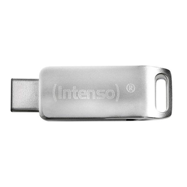 Billede af USB-stik INTENSO 3536470 16 GB Sølvfarvet