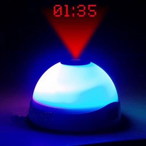 Image of   Vækkeur med LED-lys og Projektor