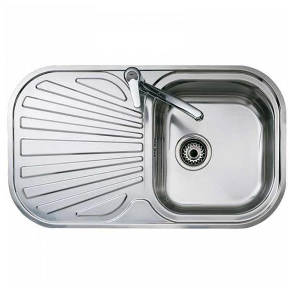 Image of   Vask med et rum og drypbakke Teka Rustfrit stål