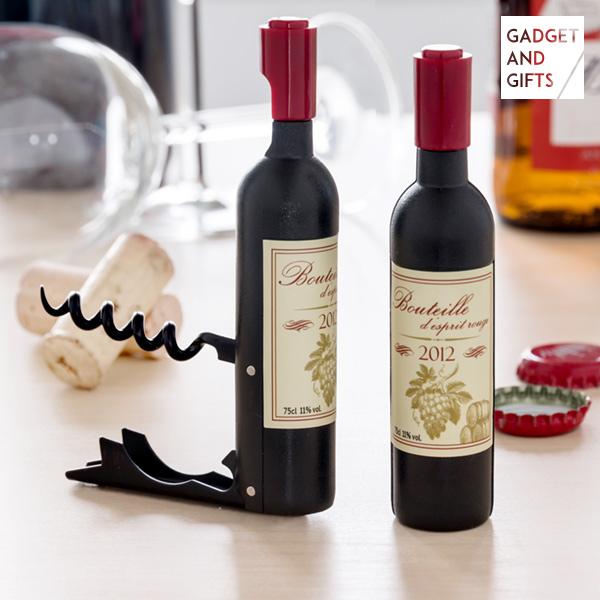Image of   Wine Magnetisk Proptrækker og Flaskeåbner